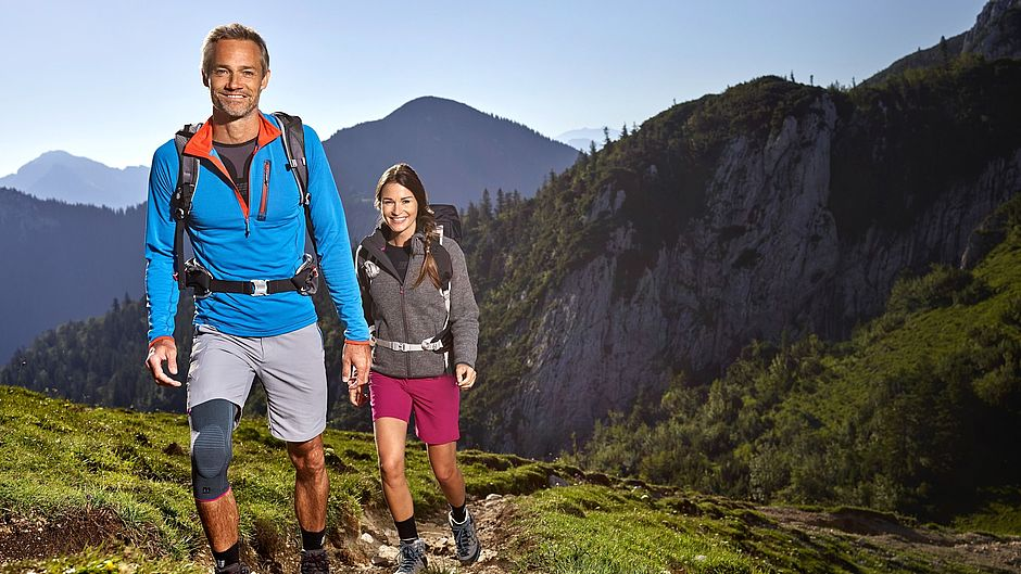 Genumedi knee support mountains hiking