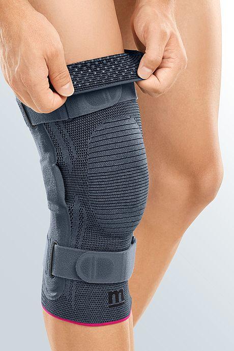 Genumedi pro knee support silver silicone burls