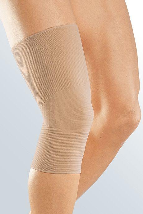 medi elastic knee supports caramel