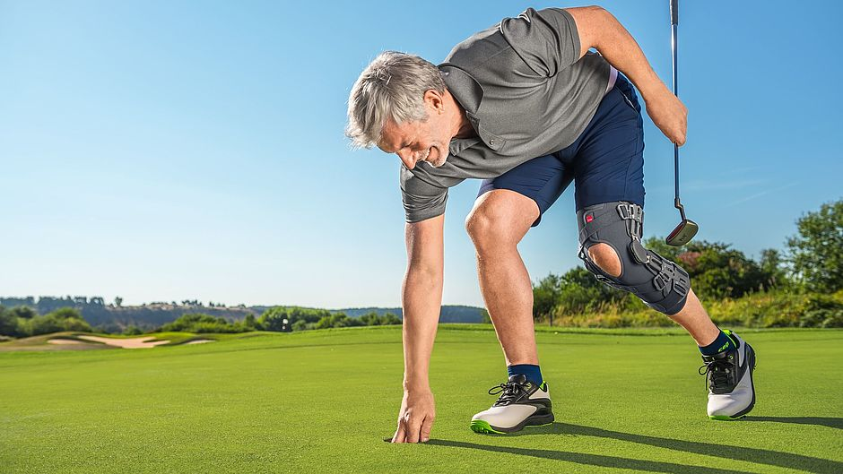 medi soft OA knee orthosis gonarthrosis golf